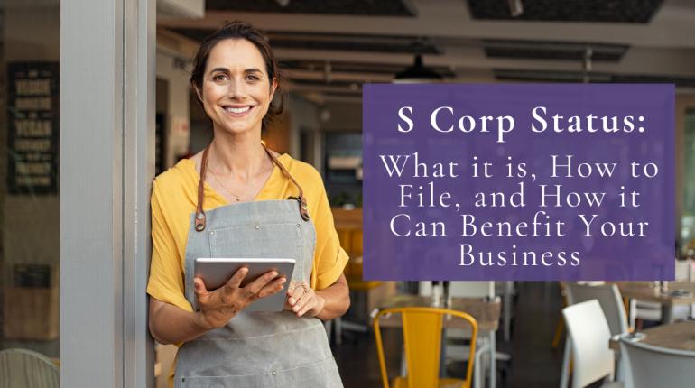S Corp Status