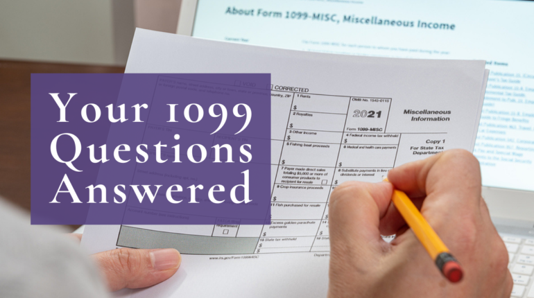 1099 form questions